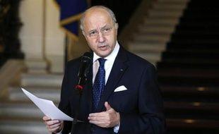 Le ministre français des Affaires étrangères, Laurent Fabius, le 24 février 2015 à Paris