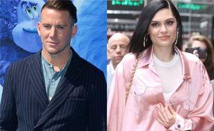 L'acteur Channing Tatum et la chanteuse Jessie  J.