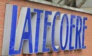 L'entrée du site de l'équipementier aéronautique Latécoère à Toulouse.