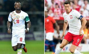 Sadio Mané et Robert Lewandowski participent à leur premier Mondial