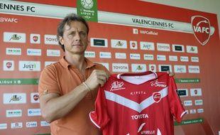 Réginald Ray est le nouvel entraîneur du VAFC
