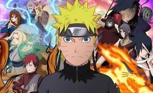 La série animée «Naruto Shippuden».