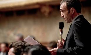 Le député LR de l'Aveyron Arnaud Viala, rapporteur de cette proposition de loi.