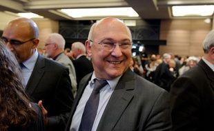 Michel Sapin au Conseil national du parti socialiste, le 14 mai 2012.