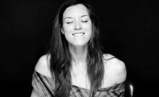 Capture d'écran d'une vidéo illustrant l'orgasme féminin.