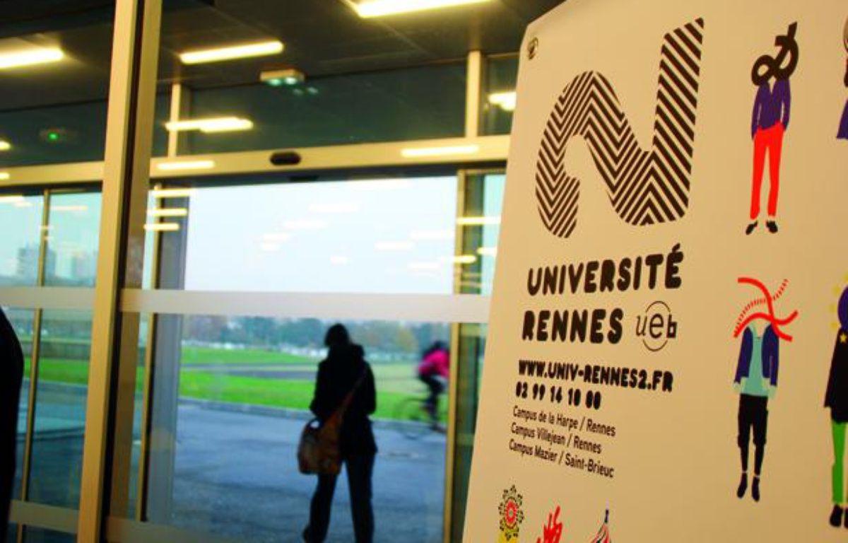Deux centsétudiants de l'université de Rennes-II ont crié leur ras-le-bol, lundi 23 septembre 2013 – C. Allain / APEI / 20 Minutes