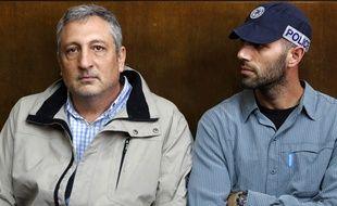 Nir Hefetz, le 22 février 2018 au tribunal à Tel Aviv.