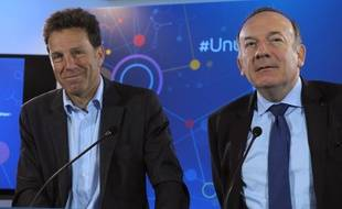 Geoffroy Roux de Bézieux et Pierre Gattaz