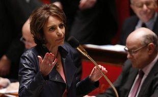 La ministre de la Santé Marisol Touraine le 17 mars à l'Assemblée nationale à Paris