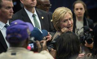 Hillary Clinton, candidate à la primaire démocrate, à Orangeburg, Caroline du sud, le 26 février 2016