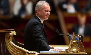 François de Rugy à l'Assemblée.