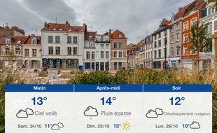 Météo Lille: Prévisions du vendredi 23 octobre 2020