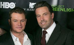 Les acteurs Matt Damon et Ben Affleck