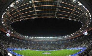 Le Stade de France, à Saint-Denis,en novembre 2011.