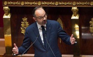 Le Premier ministre, Edouard Philippe, à l'Assemblée nationale à Paris, le 5 décembre 2018.