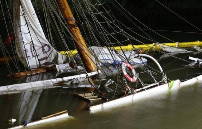 Allemagne: Un ancien voilier juste restauré coule après une collision