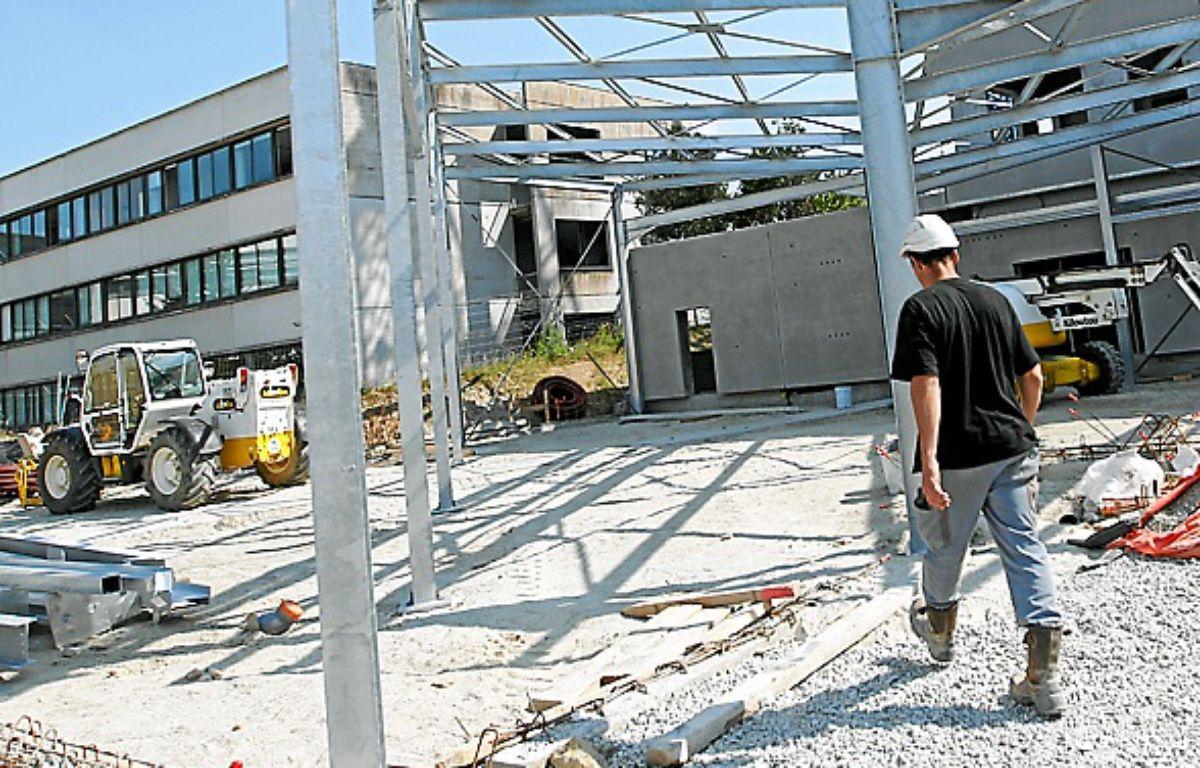 Le bâtiment sera livré début 2014. – F. Elsner/20 Minutes