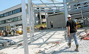 Le bâtiment sera livré début 2014.