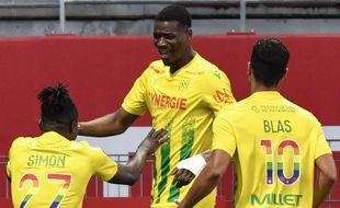 Le Nantais Kalifa Coulibaly a ouvert le score dès la 5e minute à Dijon.