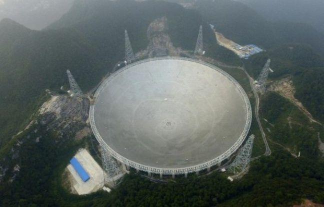 La Chine à la recherche de formes de vie intelligentes dans l'espace