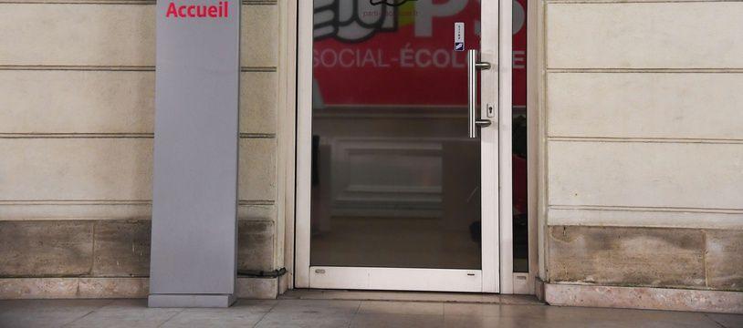 Illustration: LE siège du Parti socialiste, 10, rue de Solferino, à Paris.