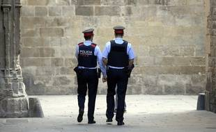 Deux policiers espagnols - Illustration