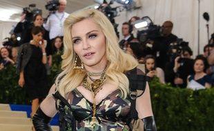 La chanteuse Madonna au Met Gala