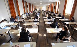 Des élèves passent le baccalauréat (illustration)