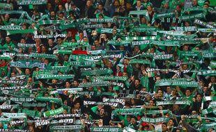 Supporters de l'AS Saint-Etienne