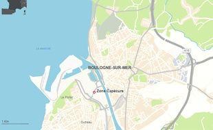 La zone de Capécure, à Boulogne-sur-Mer, dans le Pas-de-Calais.