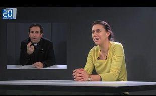 Anne Susset répond aux questions de l'abbé Grosjean