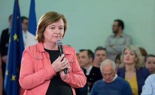 Nathalie Loiseau à Chalon-sur-Saône, le 19 avril 2019.