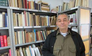 Marseille, le 24 mars 2015, Christian Artin de l'Association pour la recherche et l'archivage de la mémoire Arménienne.