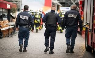 L'homme qui a menacé les policiers a été placé en garde à vue (illustration)