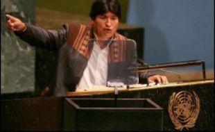 Mardi, le président bolivien, Evo Morales, allié de Hugo Chavez en Amérique latine, avait annoncé que le Venezuela avait accepté de se retirer en faveur de la Bolivie.