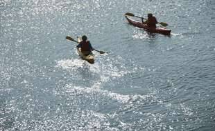 Illustration de kayak