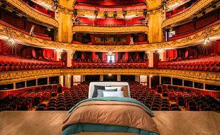 Et pourquoi pas dormir une nuit sur la scène de l'opéra de Lille ?
