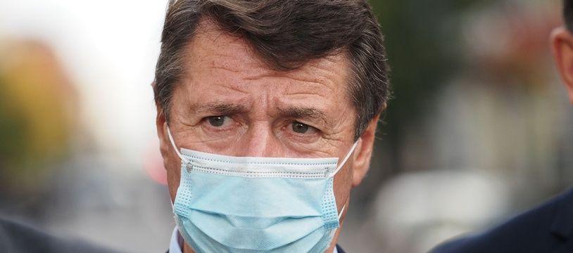 Le maire de Nice, Christian Estrosi.