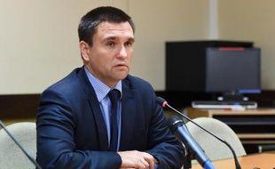 Le ministre ukrainien des Affaires étrangères, Pavlo Klimkine, le 29 juin 2015 à Bruxelles