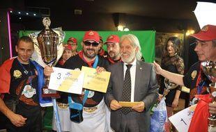 Laurent Raimondo a été sacré champion du monde de pizza.