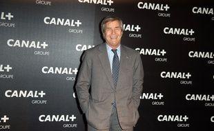 Vincent Bolloré, le président de Vivendi et du groupe Canal+