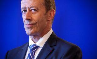 Le préfet Alain Gardère, le 29 août 2011 à Marseille.