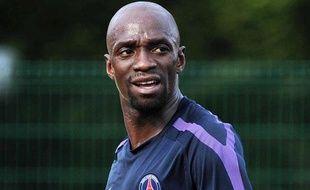Claude Makélélé (37 ans), le 20 juillet 2010 à l'entraînement