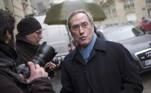 L'ancien ministre de l'Intérieur Claude Guéant le 29 janvier 2014 à Paris