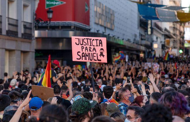 648x415 manifestation lieu madrid denoncer mort samuel luiz samedi