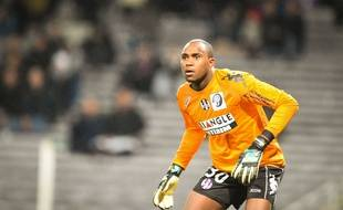 Ali Ahamada, le gardien du TFC, lors de la rencontre de Ligue 1 entre Toulouse et Monaco, le 5 décembre 2014.