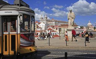 Un tam à Lisbonne.
