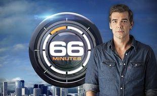 L'émission «66 Minutes» de M6 présentée par Xavier De Moulins.