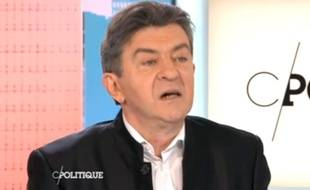 Jean-Luc Mélenchon sur France 5 le 22 février 2015.