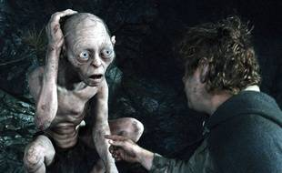 Gollum et Sam Gamgee dans «Le retour du roi».